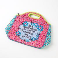 Wholesale Eco Friendly Portable Neoprene Lunch Totes for Women Monogrammed OEM from china suppliers