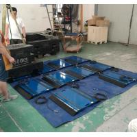 China Aluminum Portable Axle Weighing Scales 00Ton 800 × 350 × 22mm For Vehicles on sale