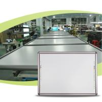Wholesale 77 83 86 90 100 inch interactive whiteboard, wall mount touching smartboard from china suppliers