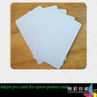 Buy cheap Offset Printing / CMYK Gift Printed Plastic Cards With Scratch Panel from wholesalers