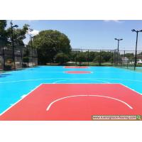 Buy cheap Construction project case - silicon PU sports court - Shanghai ecological park product