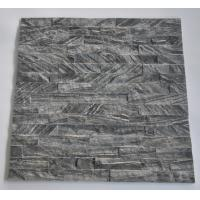 Buy cheap Hottest Natural Black Wood Wall Marble Stacked stone,Ledgstone Tiles On Ptomotion from wholesalers