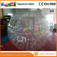 Wholesale Clear Color Inflatable Rolling Ball Water Roller / Water Walking Ball With Air Pump from china suppliers