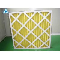 Wholesale Yellow Paper Pre Air Filter For Medium - Efficiency Filters Or Hepa Filters from china suppliers