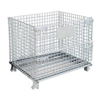 Wholesale everlasting hot dip galvanzed wire mesh pallet cage from china suppliers
