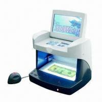 Buy cheap Counterfeit Detector with UV + MG + 3 Side of WM + IR, Various Detection Modes are Available from wholesalers