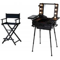Buy cheap High Performance Makeup Case With Mirror And Lights Fashionable Design from wholesalers