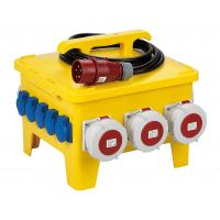 Buy cheap Portable Temporary Power Distribution Center Polyethylene Strong Plastic Housing from wholesalers