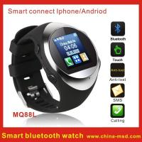 Buy cheap MP3 / MP4 Smart Bluetooth Watch Mobile Phone with Caller ID Display and 128x128px from wholesalers