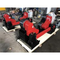 Buy cheap Hand Control And Foot Pedal, 20 Ton Steel Pipe Rollers With Remote from wholesalers