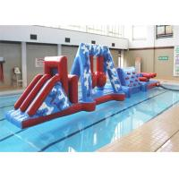 Buy cheap Funny Kids Sports Inflatable Water Obstacle Course With Safety PVC Tarpaulin from wholesalers