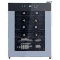Buy cheap Deluxe 24 Bottles Single Zone Wine Cooler 50-85% Humidity Range CE Certificated from wholesalers