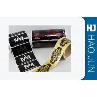 Buy cheap Coating Paper Custom Self Adhesive Stickers / Custom Removable Stickers from wholesalers