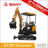 Buy cheap SANY SY16C 1.6 tons Hydraulic Tunnel Excavator cheap mini bagger for Sale from wholesalers