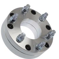 Buy cheap 6 Lug Chevy Wheel Spacers 6061 T6 , 5x5 To 6x5.5 Wheel Spacer Adapter Anodized from wholesalers