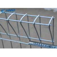 China BRC Welded Mesh Fencing , Galvanized Welded Wire Mesh Panels Roll Top Design on sale