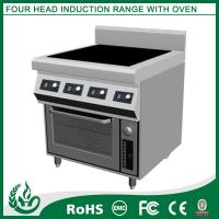 Buy cheap 14000W Electric Induction Range With Oven , Stainless Steel Induction Cooker from wholesalers