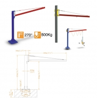 Buy cheap Glass Loading And Unloading 300kg Vacuum Hoist Lifting Systems from wholesalers