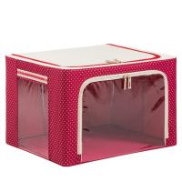 Wholesale Portable Red Sewing Clothes Storage Boxes Foldable Nylon Metarial from china suppliers