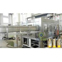 Buy cheap PET Bottle Gravity Hot Filling Machine Heat-resistant For Beverage from wholesalers