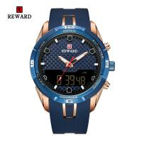 Buy cheap Chinese wholesale Led Display Sport Mens Stainless Steel Watches Alloy Case With Silicon Band from wholesalers