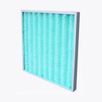 Buy cheap Fiberglass Demister Coalescing Pad Panel Air Filters With Frame from wholesalers