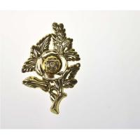 Wholesale Plastic Coffin Accessories Decoration High Durability F01 In Gold Color from china suppliers
