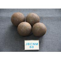 Grinding-Resisting Grinding Balls For Mining B2 D60MM Hot Rolling Steel Balls