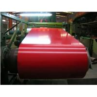 Buy cheap Red Color Coated PPGI Steel Coil ID 508mm Zinc Coated Steel Substrate product
