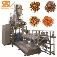 Buy cheap 2-3t/H Dry Pet Food Processing Line Adopts Corn Flour Raw Materials from wholesalers