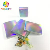 Buy cheap Recyclable Custom Printed Paper Boxes Folding Hologram Gift Card Fleixble Packaging from wholesalers