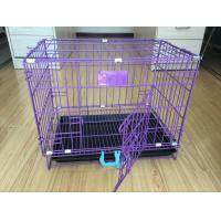 Buy cheap 2017 popular heavy duty black dog kennels two doors large pet cage / dog cages / dog kennel(Whatsapp +86 13331359638) from wholesalers