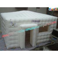 Buy cheap PVC Coated Nylon Inflatable Party Tent , Inflatable Outdoor Tent Marquee product