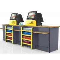 Buy cheap Durable Cash Register Counter Stand , Retail Sales Counter Furniture from wholesalers