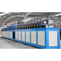 Buy cheap Galvanized Steel T Shaped Bar Ceiling Roll Forming Machinery For Inner Roof Decoration from wholesalers