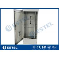 Buy cheap Waterproof And Dustproof IP55 Outdoor Telecom Cabinet With 19 Mounting Rails from wholesalers
