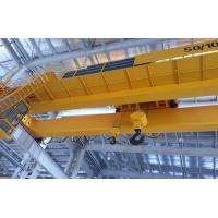 Buy cheap Electromagnetic Double Girder Overhead Crane Travelling Bridge Crane With Grab Bucket from wholesalers