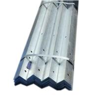 Buy cheap Hot Rollled Hot Dip Galvanized Steel Angle JIS Standard Thick Zinc Coating from wholesalers