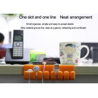 Buy cheap Silicone Cable Clips - Self-Adhesive Desk Cable Organizer, Durable Cord Management from wholesalers