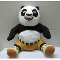 Cute Kungfu Panda Sitting Pose Cartoon Plush Toys For Collection Manufactures