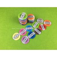 Buy cheap DIY UV Mark Decal RFID Casino Chips ,  Acrylic Texas Hold em Poker Chip from wholesalers