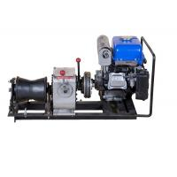 Buy cheap Belt Driving Stably Come Along Winch 3 Ton Small Volume With YAMAHA Engine from wholesalers