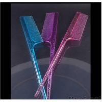 Buy cheap Tail Comb with Glitter from wholesalers