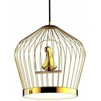 Buy cheap Classical / Contemporary Bird Cage Round Pendant Light For Living Room from wholesalers
