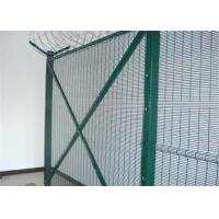 Buy cheap PVC coated 358 wire mesh fence panels  Anti-Cut & anti-climb Security Fence from wholesalers