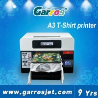 Buy cheap top quality newest cheap A3 size 3d digital t shirt printer textile printing machine from wholesalers