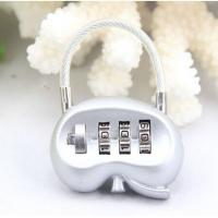 Wholesale 3 digit Combination Padlock Kidney Shape coded Lock Password Padlock Luggage Locks CR-138 from china suppliers