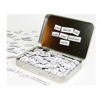 Buy cheap Kids Letters Fridge Magnetic Poetry Kit  5'' x 6'' Children's Learning Toys from wholesalers