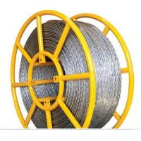 Buy cheap Used In Pulling Conductor Galvanized Anti-twisting Braided Wire Rope from wholesalers