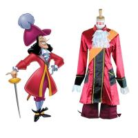 Buy cheap Prince costumes Wholesale Custom Made Peter Pan Captain Hook Cosplay Costume from wholesalers